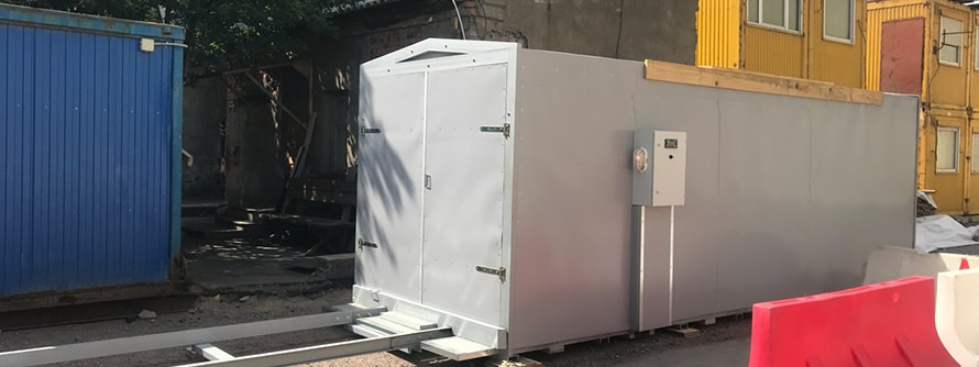 PKI - Fully electric wood drying kilns