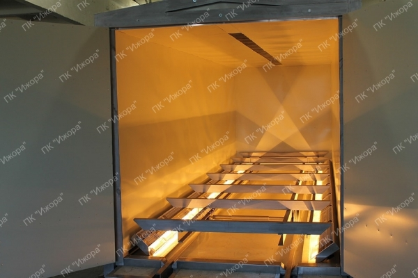 PKI – fully electric wood drying kilns