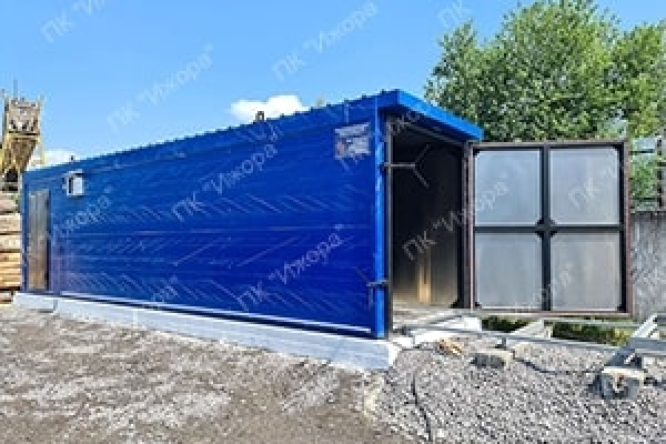 Convection drying chamber