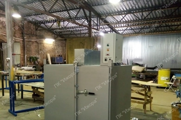 Drum heating cabinets